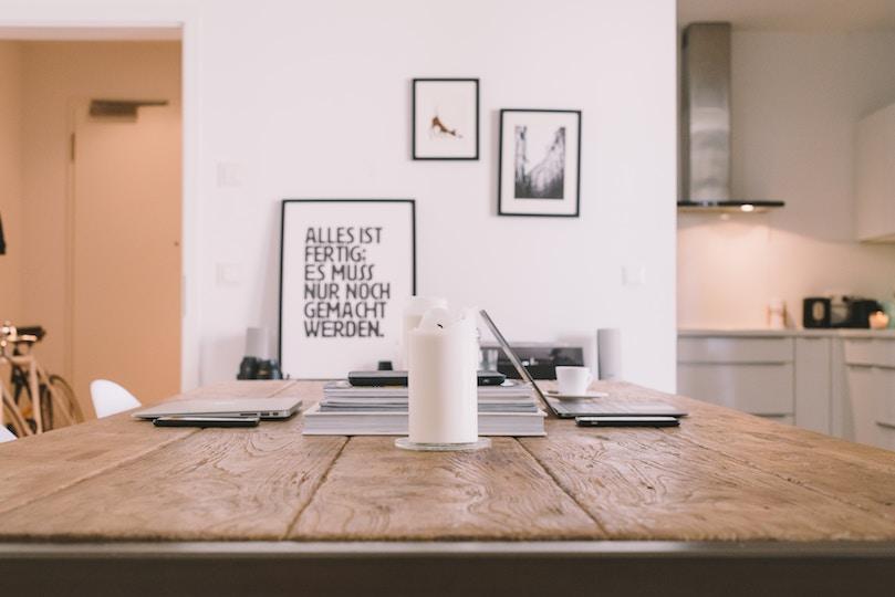 tafel met quote